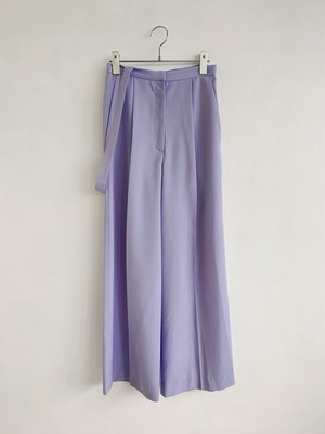 MURRAL  WIDE TROUSERS WITH STRAP