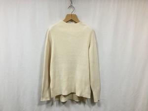 "HAKUJI "" Bottole neck knit PO "" Ivory"