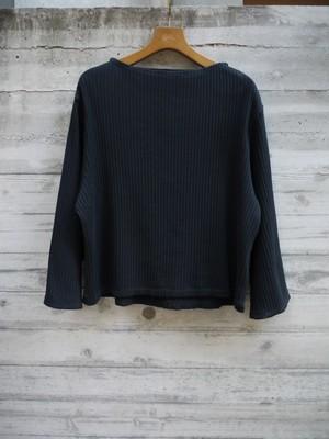 【maccaroni】リブロングTシャツ