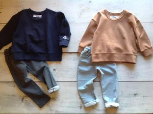 CKISM    Big Sweat & Denim Pants   set