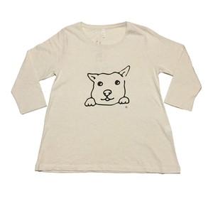 犬Tシャツ Aライン レディース