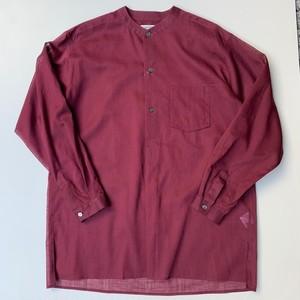 MATSUFUJI Utility Pullover Shirt BORDEAUX
