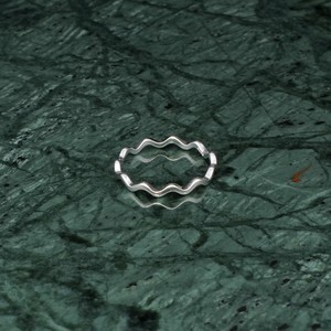S925 THIN WAVE RING SILVER