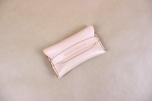 JAPAN LANSUI DESIGN 名入れ対応 ヌメ革手作り手縫い 名刺入れ 品番BNKD9KDGS335