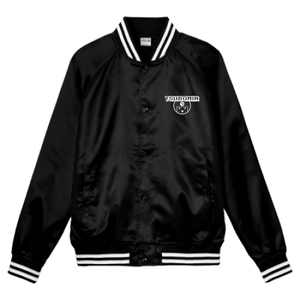 TSUBOMIN / TSUBOMIN ICON STADIUM JACKET BLACK