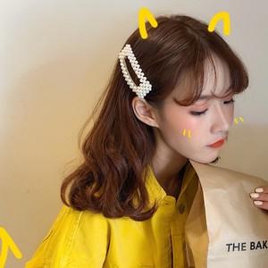 【ACC】スウィート韓国風シンプル超人気パーク飾りヘアピン20055368