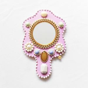 ※期間限定11/19まで【MIII ESPEJO】手鏡・ピンク系②