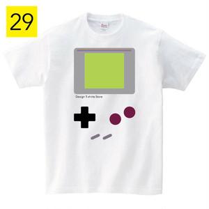 ゲームボーイ Tシャツ メンズ レディース 半袖 アメカジ ゆったり おしゃれ トップス グレー 30代 40代 ペアルック プレゼント 大きいサイズ 綿100% 160 S M L XL
