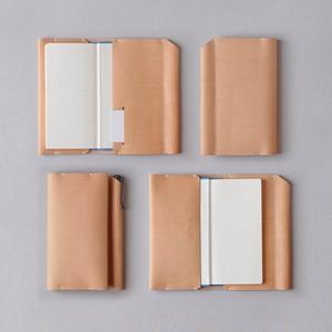 ほぼ日手帳カバー1型(ゴム紐なし)WEEKSサイズ(SG405B-HBW)