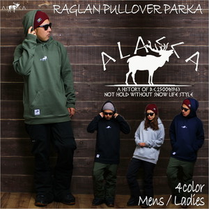 little moose RAGLAN PULLOVER PARKA as-52