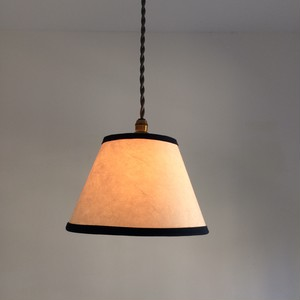 naby tape /hand made paper pendant lamp
