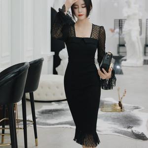 【dress】セクシードレスフィッシュテール気質あふれワンピース