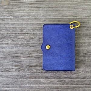 カードケース付キーケース「デベちゃん・ブルー」
