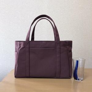 (受注生産)「ポケットトート」小サイズ「アズキ」倉敷帆布8号