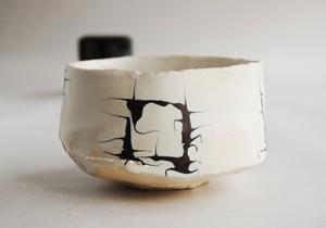 オランダ彩色茶碗(木箱付)