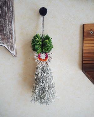 bohemian tassel charm