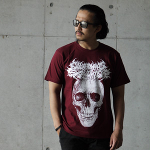 The Defleshed T-shirt Burgundy
