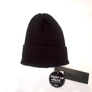 Heat Rib Knit Cap Black