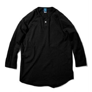 Good On / グッドオン | ONE BUTTON BASEBALL TEE / ワンボタンベースボールTシャツ - Reactive Dye