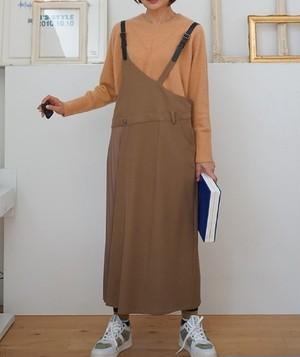 アシンメトリージャンパースカート Priority 【P17150】