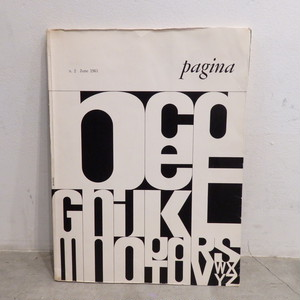 Pagina/n.2 June 1963 no.2 international review of graphic design