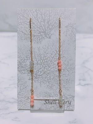 《14kgf》long asymmetry pierce