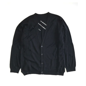 18SS KN-02 DAMAGE BIG CARDIGAN