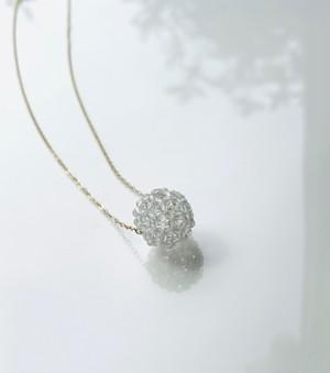 フラーレン 水晶 ネックレス