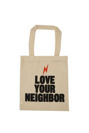 LOVE YOUR NEIGHBOR TOTE BAG  / S