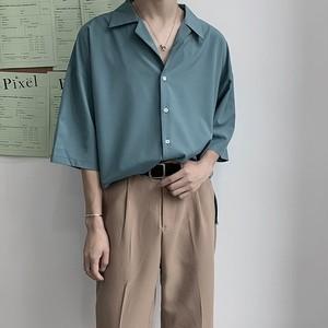 ベーシック半袖シャツ BL5689