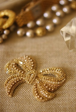 【Brooch】Vintage Ribbon
