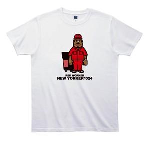 《山本周司Tシャツ》TY024/  RED WORKER