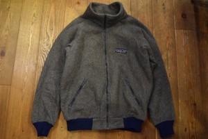USED パタゴニア バンティングジャケット デカタグ 80s グレー