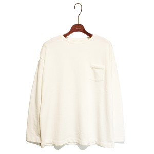 L/S Loose Pocket Tee -white <LSD-AI3T6>