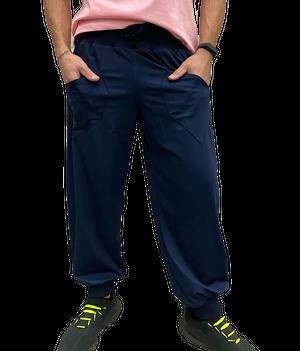 【SKANDHAL】TORINO ロングパンツ【ダークブルー】【新作】イタリアンウェア【送料無料】《M&W》