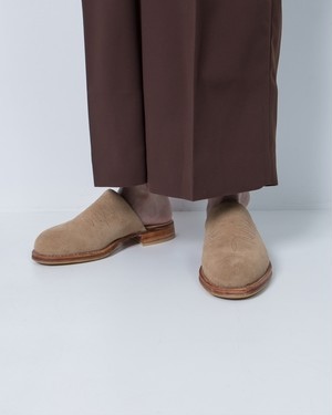 """MATADEROS by EL RESERO"" Gaucho Sandalia / NEW / Made In ARGENTINA / COLOR:SUEDE BEIGE"