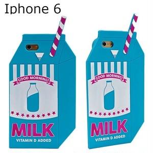 skinnydip スキニーディップ ロンドン ストロー ミルク パック iphone 6 case アイフォン シックス カバー シリコン 可愛すぎる キュート 海外 ブランド