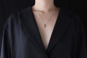 eye of the needle necklace / 針の目ネックレス[ペアネックレスにオススメ]