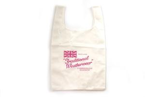 トラディショナルウェザーウェア|Traditional Weatherwear|エコバッグ|marche BAG mini WOMEN バッグ|ホワイト×ピンク