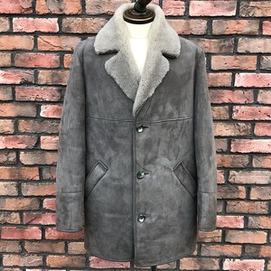 Vintage Woolea Lambskin Products Coat L/GRY UK38
