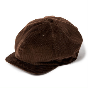 "Just Right ""Sports-Newsboy Cap Cords"" Dark Brown"