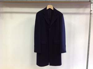 "niuhans""Chesterfield Coat Navy"""
