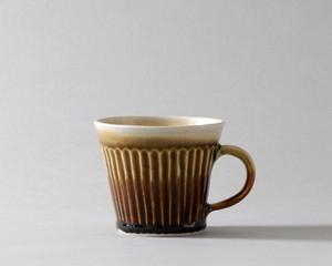 マグカップ -中・茶| 環窯