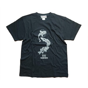 FISH T SHIRTS BW-710 BLACK