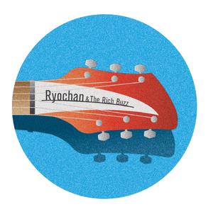 丸型缶バッジ 大 「Ryochan&The Rich Buzz」