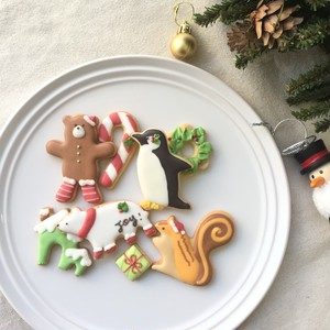 Holiday  Cookies -Animal-
