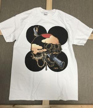 """白Tシャツ"""" 阿 〜A~ """"黒玉"""