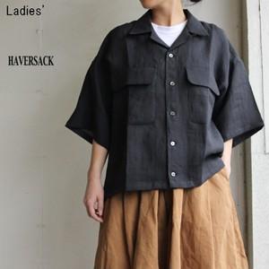 HAVERSACK ラミーオープンカラーシャツ 621816