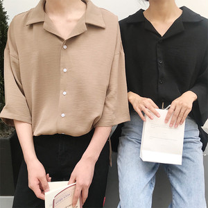 【お取り寄せ商品】simple silhouette shirt 6705
