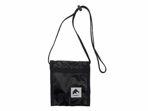 NYLON PASS CASE BLACK 18AW-FS-61